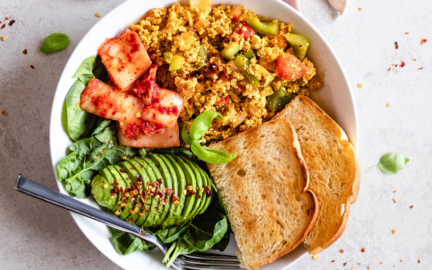 15-Minute Tofu Scramble