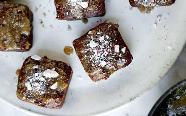 Golden Chocolate Tofu Brownies