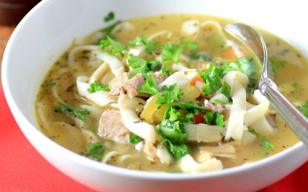 Easy Turkey Noodle Soup with Tofu Shirataki