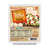 Organic Tofu Cubed Super Firm