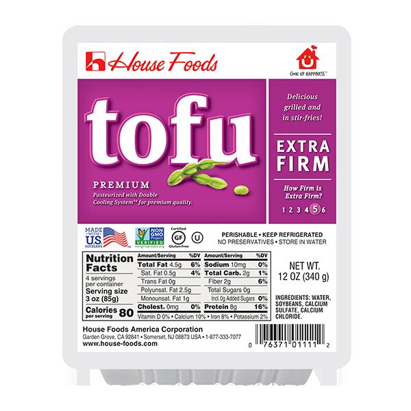 Premium Tofu Extra Firm House Foods
