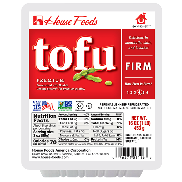 Premium Tofu Firm 16oz
