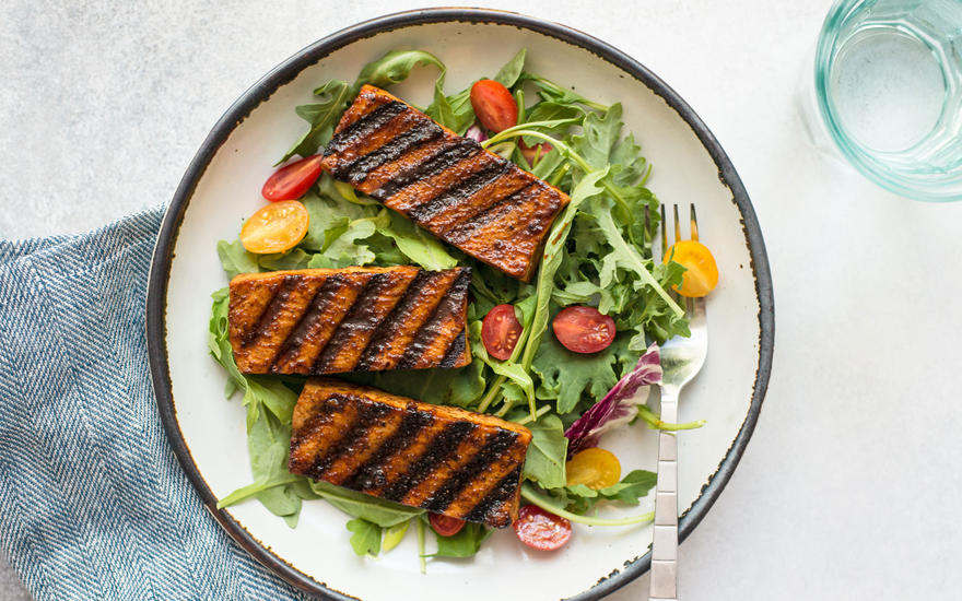 Cajun-Spiced Grilled Tofu