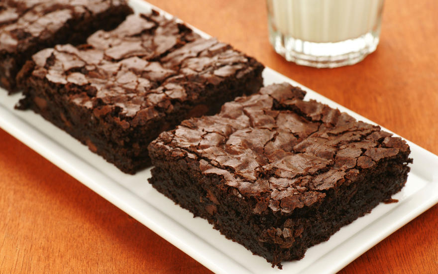 Chocolatey Tofu Brownies