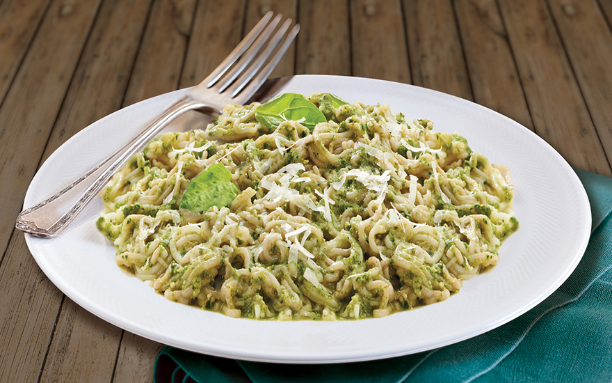 Heavenly Angel Hair Pesto