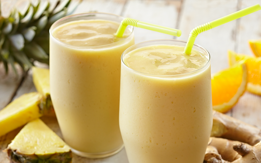 Pineapple Ginger Bliss Smoothie
