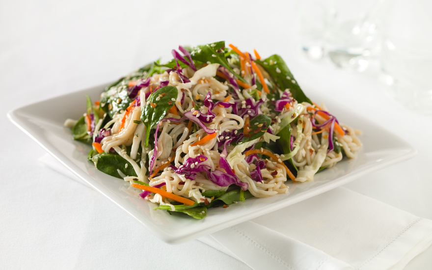 Shirataki Sesame Ginger Salad