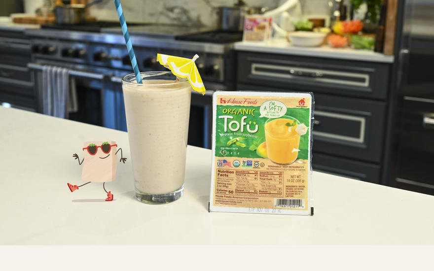 TROPICAL TOFU SMOOTHIE